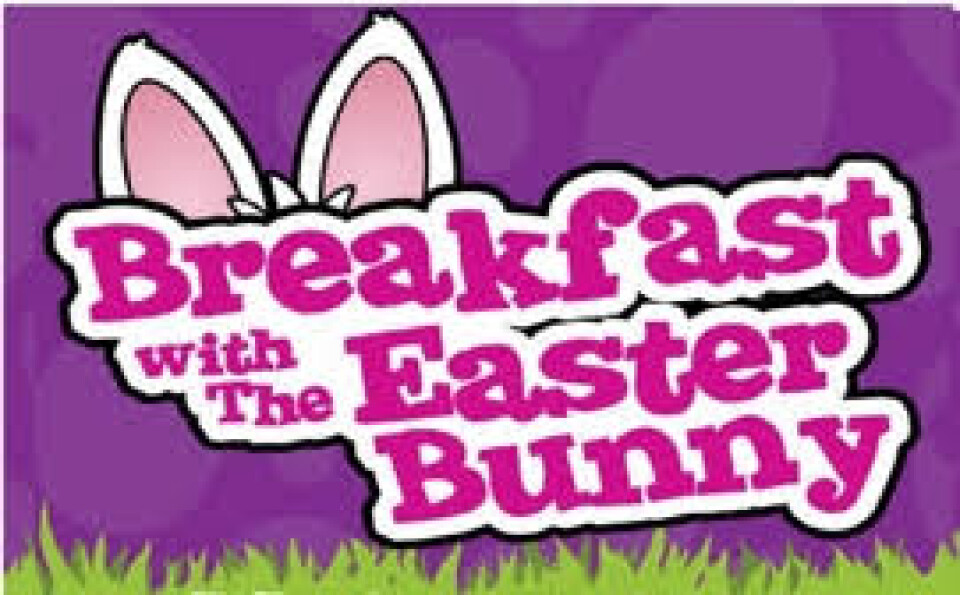 CANCELED - 8:30 a.m. Breakfast with the Easter Bunny
