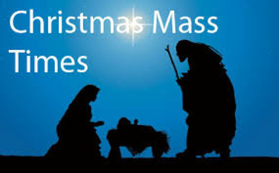 Plans for our Christmas Masses